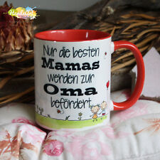 Tasse / Nur die besten Mamas werden zur Oma befördert / Geschenk Weihnachten
