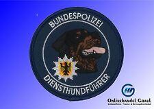 Abzeichen Bundespolizei Diensthundführer blau Rottweiler