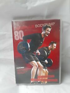 Les Mills BODYPUMP 80 CD, DVD, including Notes Sizzler Cardio Intensive Complete