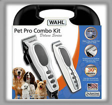 Dog Grooming Combo Kit Animal Clipper Trimmer Wahl PRO Pet Cutting Machine