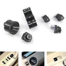 6PCS Chrome Window Mirror Switch Set for VW Passat B6 CC Golf Jetta 5ND941431B