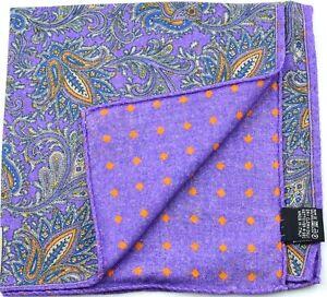 NEW Robert Talbott Wool Pocket Square *$95 retail* NWT (031921)
