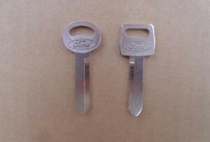 OLD SCHOOL FORD KEY BLANKS! FORD MUSTANG FAIRLANE GT LTD MACH 1 SHELBY 429 351