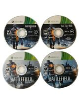 Battlefield 3 & 4 Video Game BF3 Xbox 360 Disc 1 & 2 EA Games Complete Disc Only