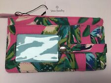 Vera Bradley Ultimate Card Case Wallet ~  TROPICAL PARADISE 🌺   NWT