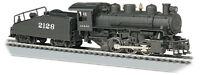 Bachmann 50604 HO SCALE 0-6-0 SANTA FE Steam Loco, WORKING Smoke NEW IN BOX