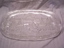 "MIKASA Christmas Carol 15.5"" Canape Tray NEW with Box SA 839/349"