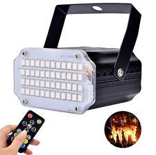 Disco Strobe Licht LED Partyleucht Stroboskop Lichteffekt DJ-Licht RGB Tischlamp