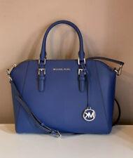 Michael Kors Bag Saphire Satchel Saffiano Leather NWT £360