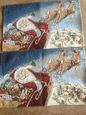 New listing 2 piece Table Placemat Set ( Holiday Set )
