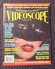 2001 VIDEOSCOPE Horror Movie Magazine #39 FVF Satan Was A Lady Cover