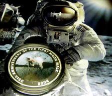 Australia 755/1000 Blast Off 50 Years in Space Stamp & 1 OZ Silver $1 World 1st!