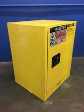 JUSTRITE AEROSOL CAN BENCH TOP FLAMMABLE CABINET~890500~ONTARIO, CALIF.