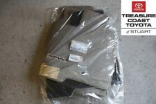 NEW OEM TOYOTA SIENNA 04-10 TAN (TAUPE) FLOOR MATS AND CLIPS 8 PASSENGER MODELS