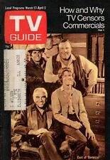 1971 TV Guide March 27 - Bonanza; Johnny Cash; Shirley Jones - Partridge Family