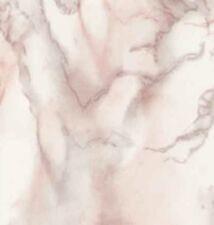 Klebefolie - Möbelfolie Carrara Marmor Look grau rose Dekorfolie 45 cm x 200 cm