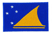 TOKELAU ISLANDS FLAG PATCH patches backpack BADGE IRON ON NEW EMBROIDERED