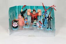 Disney Authentic Wreck it Ralph Breaks the Internet Christmas Ornaments 10pc Set