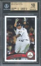 2011 topps update #us132 JOSE ALTUVE houston astros rookie (PRISTINE) BGS 10