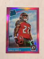 RONALD JONES II 2018 Donruss Optic PINK HOLO SP RC REFRACTOR #159! BUCS! HOT!