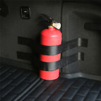 Magic Stickers Strip Bracket For Car, Home Dry Powder Safety Fire Extinguisher