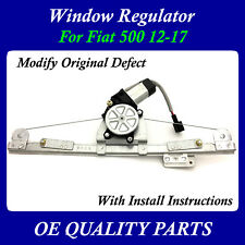 Upgrade Modify Window Regulator motor Front Right Passenger for Fiat 500 12-17