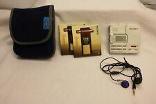 SONY WALKMAN  Portable MiniDisc Recorder MZ-R90 MD & 2 X NEW MINIDISCS PREMIUM
