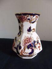 Masons Ironstone Blue Mandalay Vase Made In England Beautiful