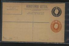 Great  Britain  double  embossed registered  envelope unused         KL1019