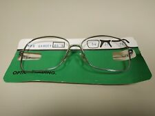 1018- MONTURA GAFAS VINTAGE 70/80 SALERNO ITALY 12.5  X 5 CMS NEW OLD STOCK Nº 3