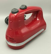 KitchenAid 5-Speed Ultra Power Hand Mixer Red KHM512ER - No Beaters Included