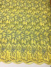 5 Yards High Quality Yellow lace