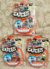 Tech Deck Dudes  4-Pack Lot of 3 Collectible Includes 1 Secret Dude New & Sealed