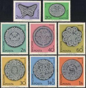 Hungary 1964 Lace-making/Crafts/Textiles/Design/Business/Commerce 8v set n45498