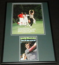 Fuzzy Zoeller Signed Framed 12x18 Photo Display