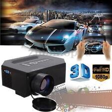 Mini 1080P Home Theater Projector UC30 LED HD HDMI 3D VGA Multimedia Player