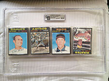 1971 Topps Baseball Pack Card Graded Rack Cello Wax Graded GAI 8.5