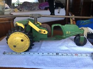 National B3 Tractor Sprinkler. Rare Brass Or Copper Arms.