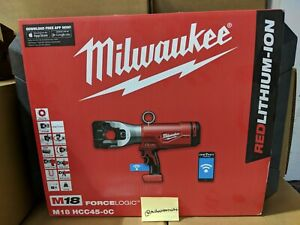 Milwaukee M18 FORCE LOGIC 1590 ACSR Cable Cutter - TOOL ONLY | M18 HCC 45-0C