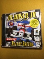 Al Unser Jr. Arcade Racing PC CD-ROM Mindscape 1997 game for Windows 95/3.1