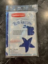 Rubbermaid Create Your Own Tub Treads Blue