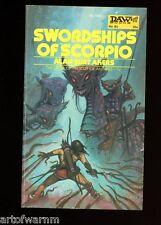 DAW 81 swordships di scorpione, Alan B Akers, TIM KIRK ART 1st SB, MOLTO BUONO