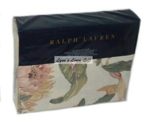 RALPH LAUREN Olivia Josefina Floral FULL/ QUEEN DUVET Cream Multi $355 NEW
