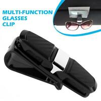 Universal Auto KFZ Sonnenblende Clip Brillen Halter Sonnenbrille Schwarz DE