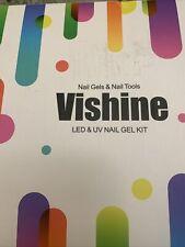 Vishine Led Uv Nail Gels Tooks Kit