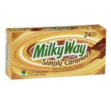 24 -1.9 Oz Milky Way Simply Caramel Candy Bars Milk chocolate