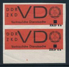 Postfrische Dienstmarken aus der DDR als Einzelmarke