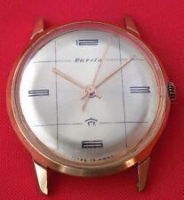 Russian Wrist watch Raketa Gold plated AU mechanical vintage Soivet USSR era