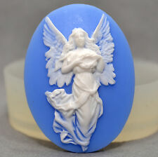 Flying Angel Cameo  Slicone Mould Cupcake polymer clay chocolate resin fimo mold