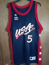 USA Basketball 1992 Olympic Dream Team 2 Grant Hill Champion Jersey